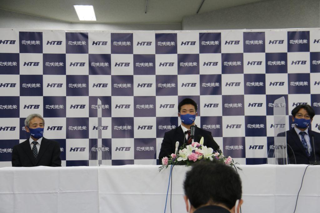 井上朋也君 福岡ソフトバンクからドラフト1位指名