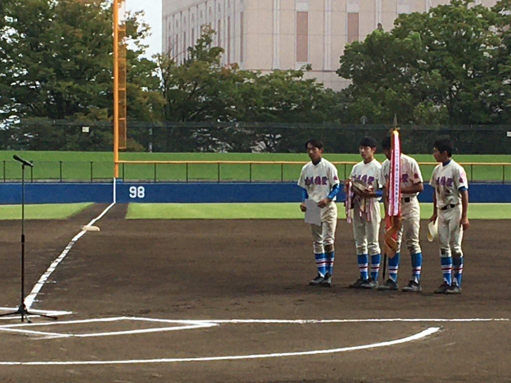 軟式野球部秋季埼玉県大会優勝