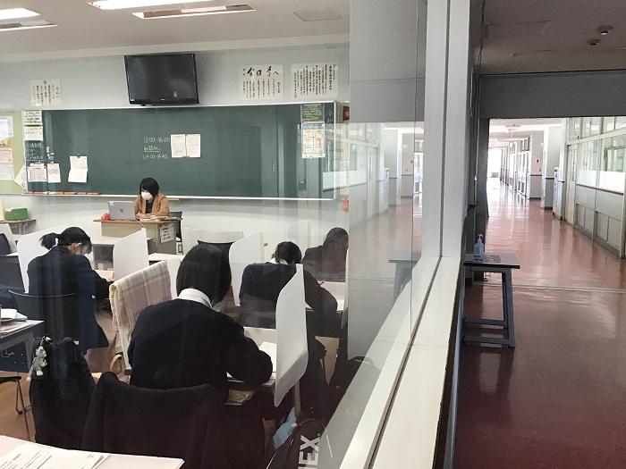 本校普通科の取り組み⑪ 第1学年・2年準備期間学力定着プログラム実施