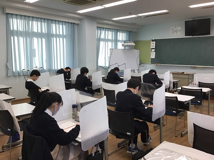 本校普通科の取り組み⑩ 第2学年・3年0学期直前学力向上プログラム実施