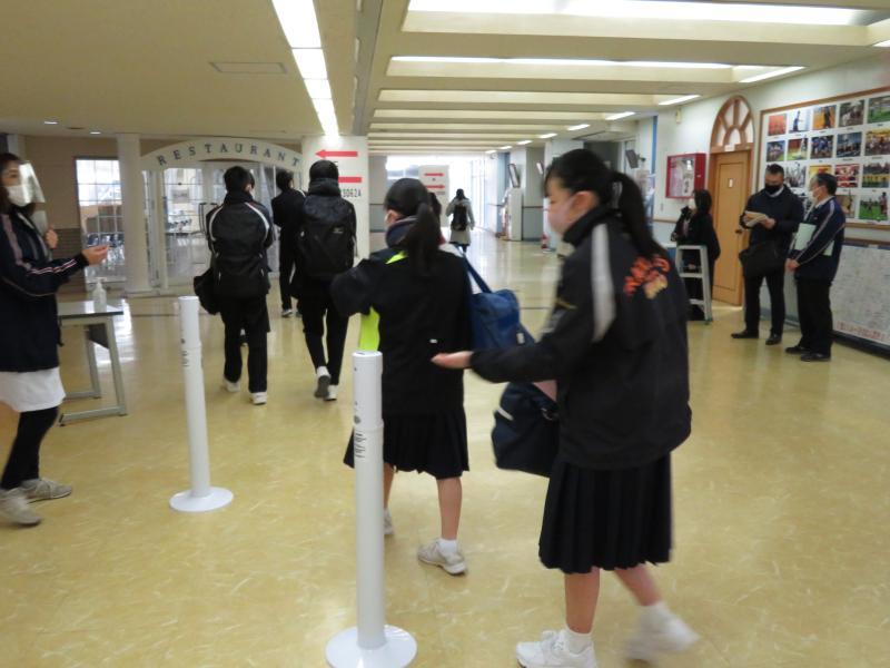 令和3年度 花咲徳栄高等学校 第1回 入学者選抜試験実施