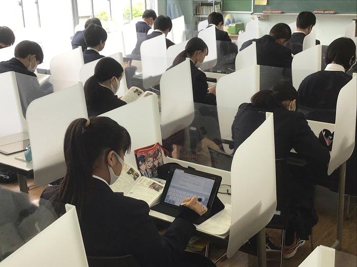 本校のICT教育⑤ ~1年公民科(政治経済)・タブレットの活用、世界の政治体制を考える~
