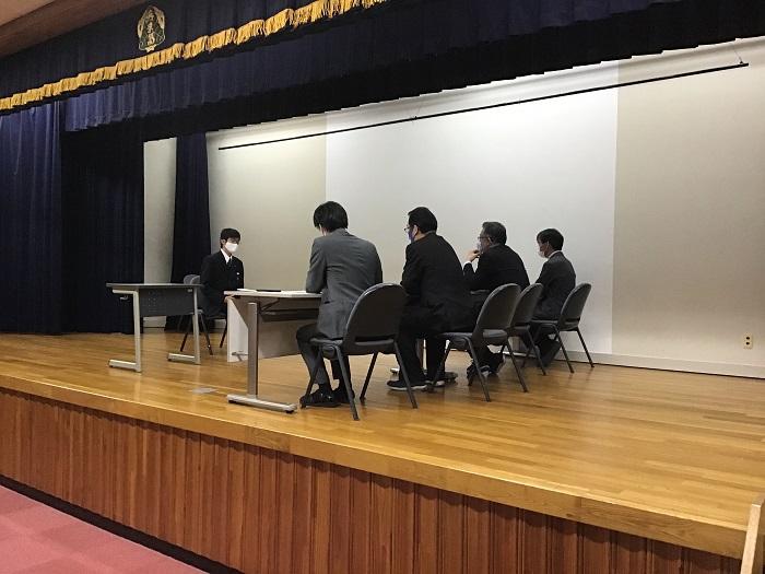 本校普通科の取り組み① ~国公立大学・学校推薦型選抜 対策講座~
