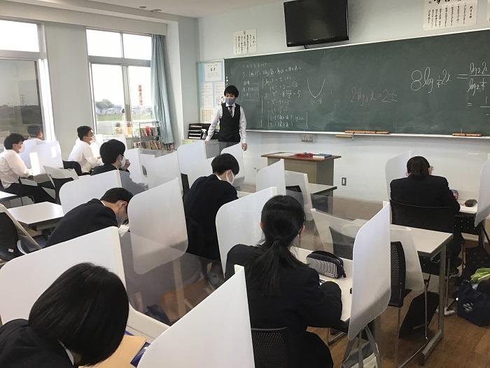 進学特別指導・放課後補習開始 ~志望大学合格に向けて基礎力・実践力の育成~