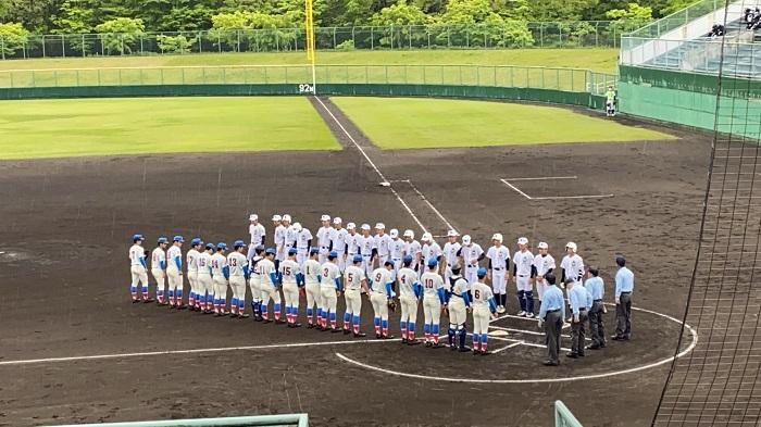 春季関東高校野球大会2回戦 ~先発松田連日の力投、鹿野・飛川二者連続本塁打、7対4で勝利し関東8強入り、準々決勝で常総学院と対戦~