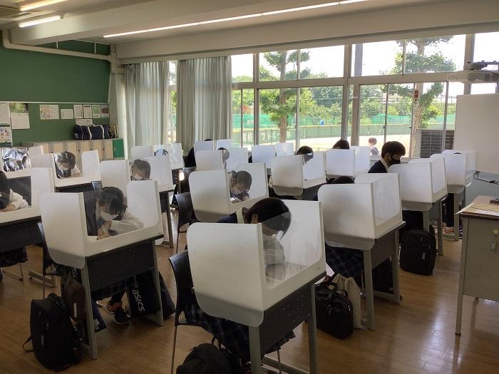 第1学期中間考査開始 ~1年生は初の定期考査~