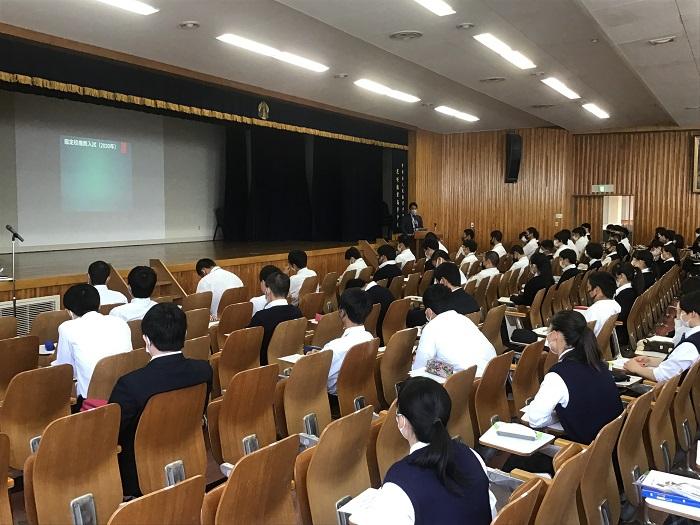本校普通科の取り組み③ ~3年アドバンスコース総合進学クラス・進路指導~