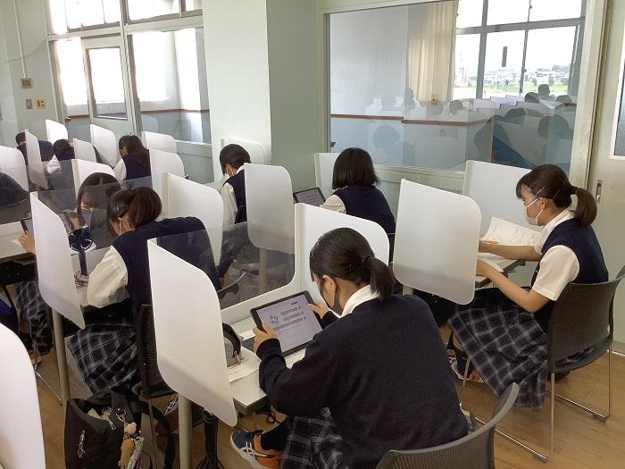 本校のICT教育⑩ ~1年・生物基礎「タンパク質とアミノ酸」・リアルタイム授業支援アプリ「MetaMoJi ClassRoom」を用いた協働学習~