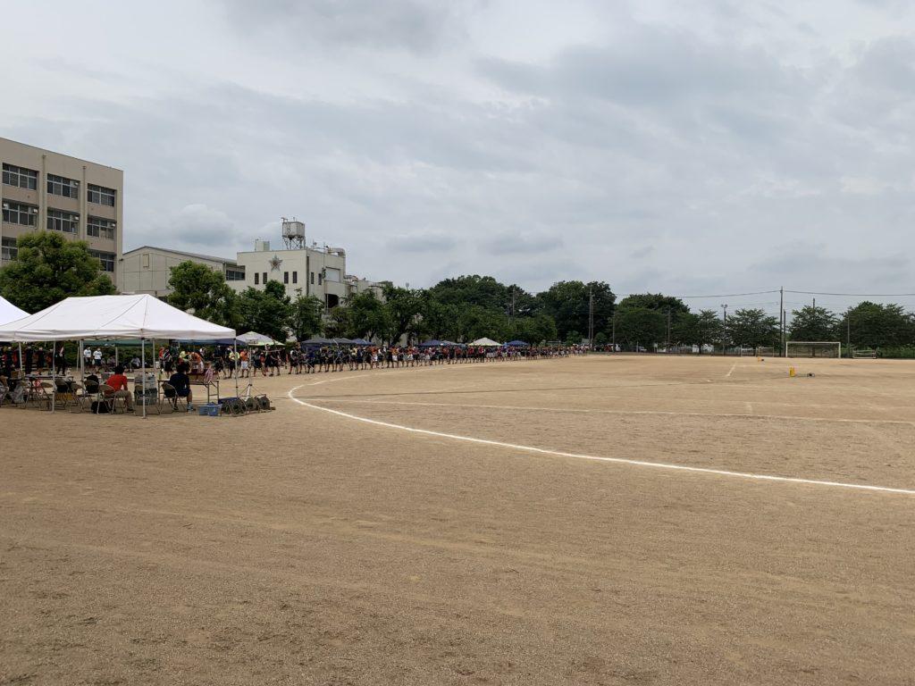 インターハイ県予選会が行われました。