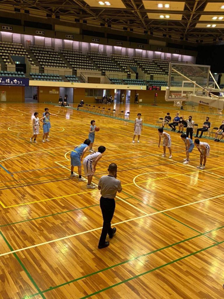 女子バスケットボール部 インターハイ予選 東部地区 うれしい突破!次は県大会!!