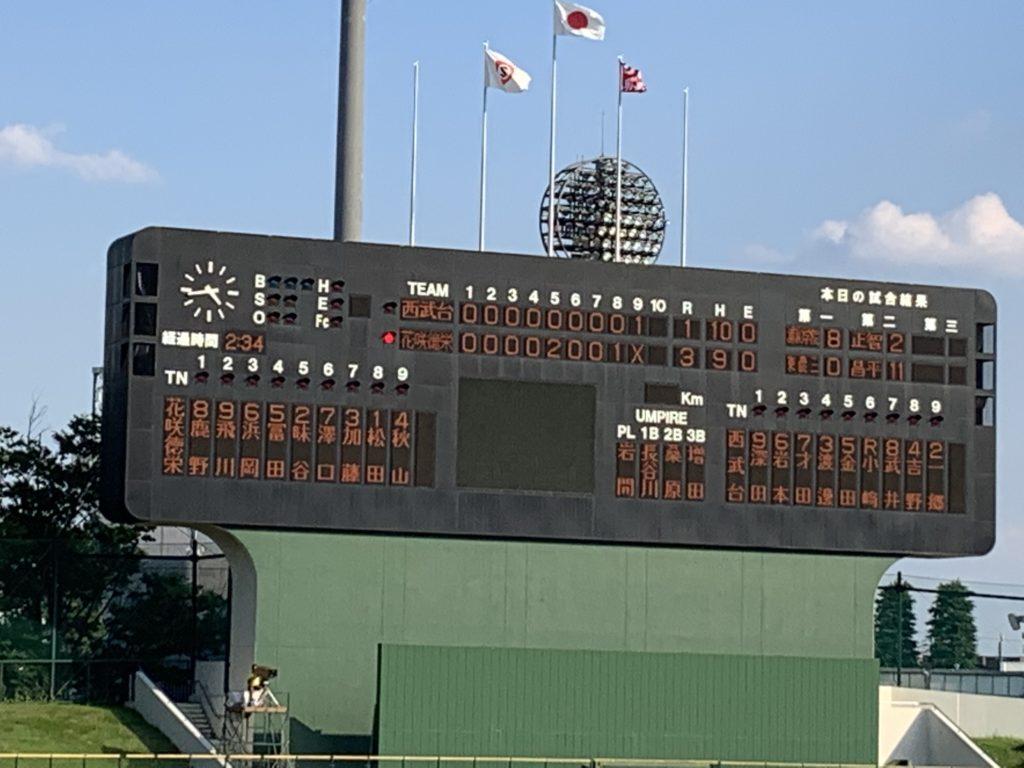第103回全国高校野球選手権埼玉大会4回戦  ~松田完投、鹿野貴重な先制打と好守、接戦を制しベスト16進出~
