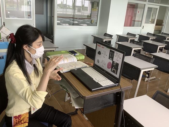 オンライン授業開始  ~全クラス全授業で双方向型の授業展開、生徒とつながり、生徒の学習機会を確保~