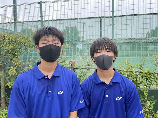 夏の熱戦制す!!男・女県大会出場(テニス)