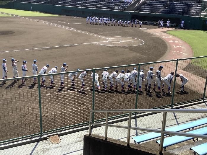 秋季埼玉県高校野球大会3回戦 ~鈴木好投・4安打完投、7回には1年新井が貴重な右翼越え適時打で8強入り~