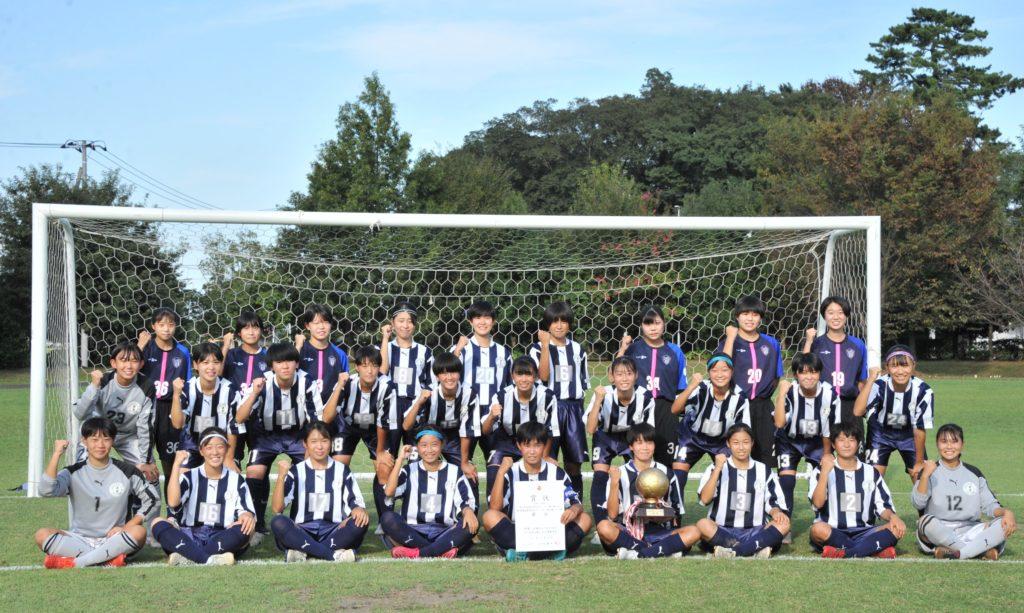 女子サッカー部 関東Liga student2021 現在1部Aリーグ3位!!!